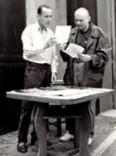 Con Enzo Cucchi