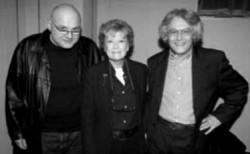 Con Dacia Maraini e Gianni D'Elia